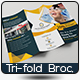 Hospital Trifold Brochure Template
