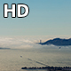 Aerial San Francisco Golden Gate Bridge and Alcatraz With Fog  - VideoHive Item for Sale