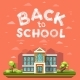 Modern School Building - GraphicRiver Item for Sale