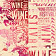 Wine Festival Vintage Flyer - GraphicRiver Item for Sale