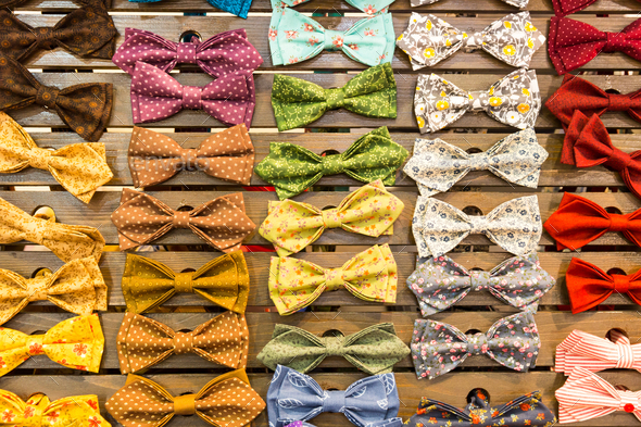 Vintage bow-ties - Stock Photo - Images