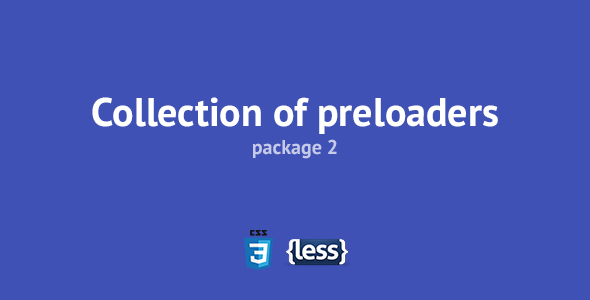 Collection of Preloaders 2 - CodeCanyon Item for Sale
