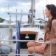 The Girls Sitting On The Yacht And Laughing - VideoHive Item for Sale