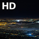 Bay Bridge, San Francisco, Oakland and Berkeley at Night With Fog - VideoHive Item for Sale