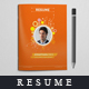 Resume Booklet Design _8 Pages - GraphicRiver Item for Sale