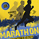 Marathon Event Flyer-Graphicriver中文最全的素材分享平台
