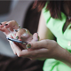Woman Using a Gadget - VideoHive Item for Sale