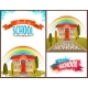 Back To School Banners And Poster Set. Vector - GraphicRiver Item for Sale