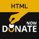 Fundraising - HTML template for charity and donation websites - ThemeForest Item for Sale
