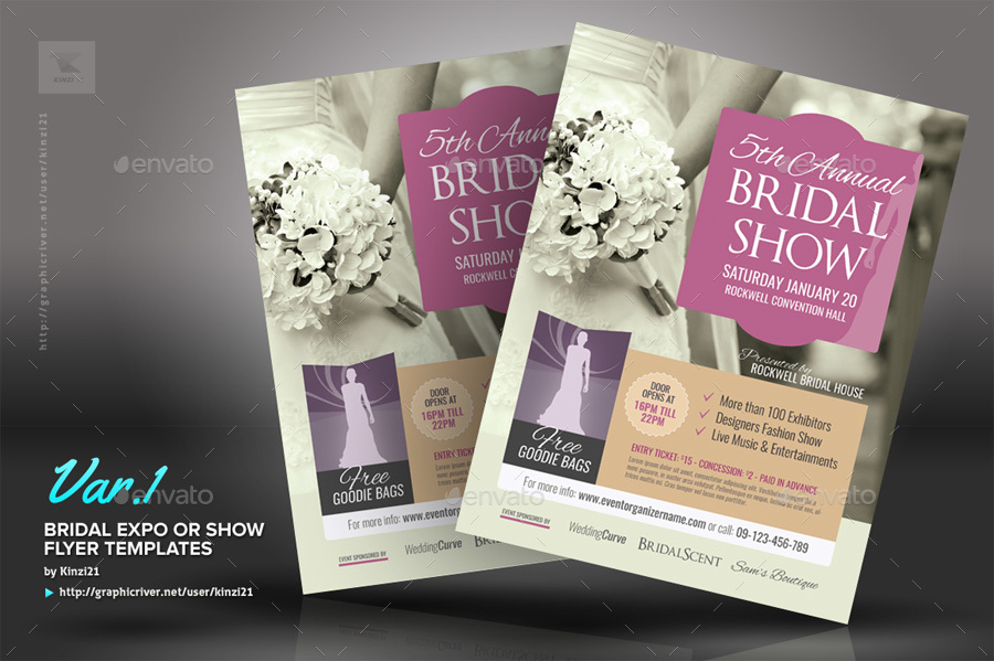 Bridal Screenshots 01 Graphic River Expo Flyer Templates Kinzi21 Jpg