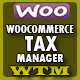 Woocommerce Tax Manager - WTM