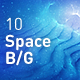 Space Abstract Backgrounds - GraphicRiver Item for Sale