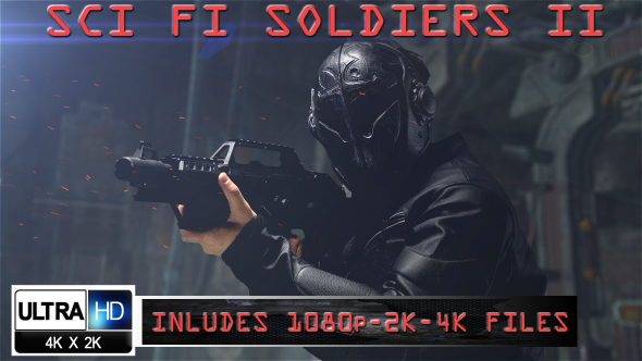 Sci Fi Soldiers Ii By Inmanproductions Videohive