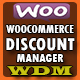 Woocommerce Discount Manager - WDM - CodeCanyon Item for Sale