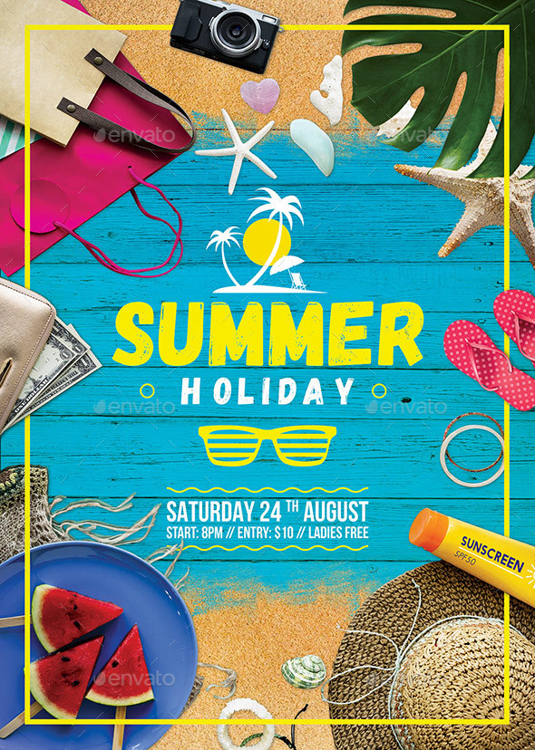 Summer Holiday Flyer