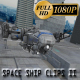 Space Ship Clips II  - VideoHive Item for Sale