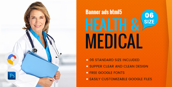 Health & Medical Banners HTML5 - GWD - CodeCanyon Item for Sale