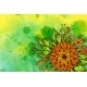 Floral Pattern On Watercolor Painting - GraphicRiver Item for Sale