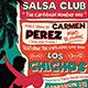 Salsa Flyer Template V4 - GraphicRiver Item for Sale