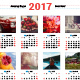 Calendar Poster 2017 - GraphicRiver Item for Sale