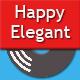Happy Elegant Logo