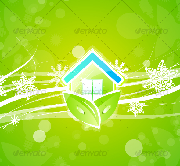 Green design with Christmas idea - Nature Conceptual