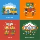 Bus Stop, Classroom And Lesson Concepts - GraphicRiver Item for Sale