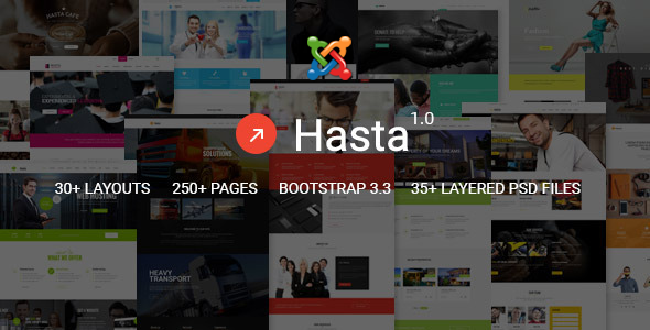 Hasta – Responsive Multipurpose Joomla Theme