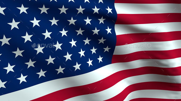 usa flag background by silentnightlabs