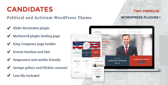 Candidates – Political and Activism WordPress Theme