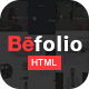 Befolio - Multi-Purpose HTML5 Template - ThemeForest Item for Sale