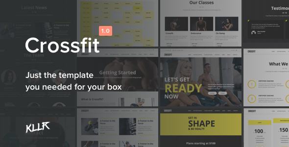 Crossfit - The 100% Tailored Template for your Box