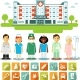 Medicine InfographicSet - GraphicRiver Item for Sale