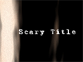 Scary Title - VideoHive Item for Sale