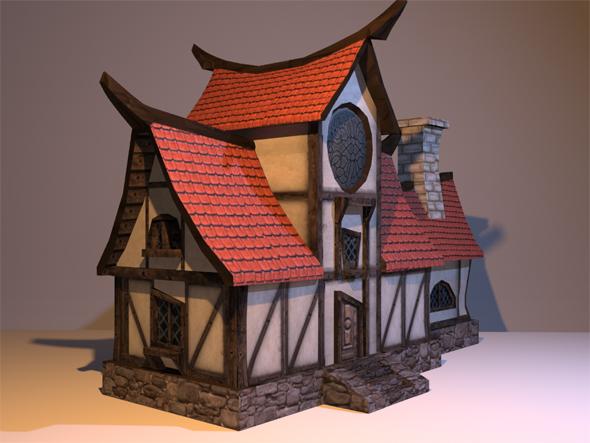 Settler House - 3DOcean Item for Sale