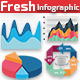 Fresh Infographic Elements - GraphicRiver Item for Sale