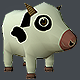 Mini Cow Low Poly - 3DOcean Item for Sale