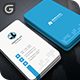Vertical Circle Business Card  - GraphicRiver Item for Sale