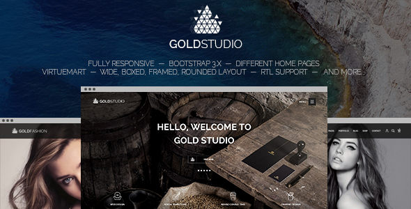 Gold – Responsive Virtuemart Joomla Template