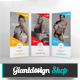 Fitness Roll Up Banner Signage - GraphicRiver Item for Sale