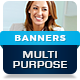 Multipurpose Business Advertisement Banners - GraphicRiver Item for Sale