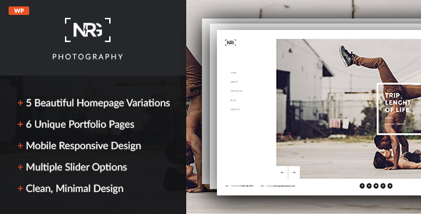NRG Photography – Modern Photography Theme