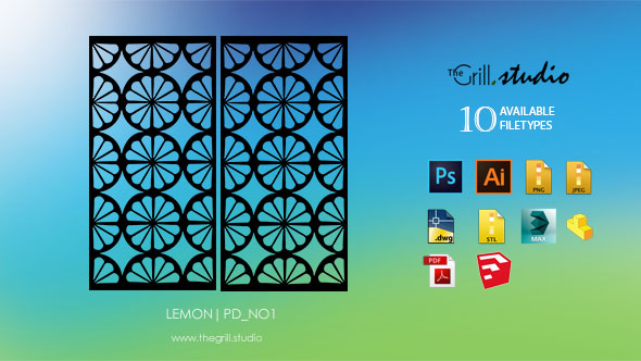 lemon 3d screen pd_N01 - 3DOcean Item for Sale