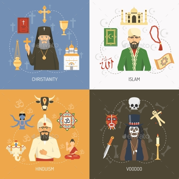 islam hindu religions