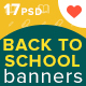 Back to School Sale Ad Banners - GraphicRiver Item for Sale
