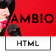 Ambio — Unique Personal Blog | Magazine Responsive HTML Template - ThemeForest Item for Sale