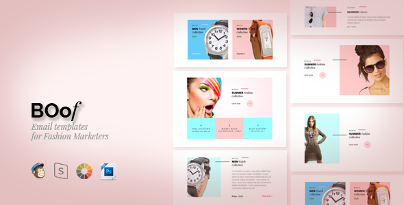Boof – Fashion – Email Templates
