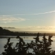 Sunset  Of The Arona City, From Across The River - VideoHive Item for Sale