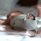Newborn Baby Lying On a Bed - VideoHive Item for Sale