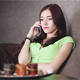 Beautiful Girl Speaks by Phone - VideoHive Item for Sale